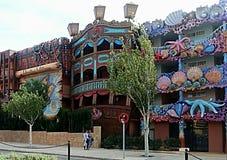 Смешной дом Стоковые Изображения RF