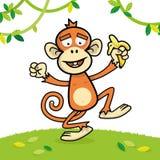 Смешной орангутан иллюстрация штока