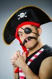 смешной пират Стоковые Изображения