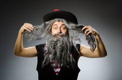 смешной пират Стоковые Фото
