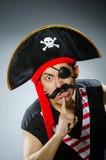 смешной пират Стоковое Изображение