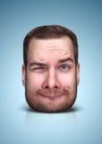Смешной портрет шаржа Стоковая Фотография