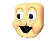 Смешной смеясь над головной значок 3D персонажа из мультфильма бесплатная иллюстрация