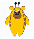 Смешной странный жираф Стоковое Изображение RF