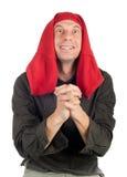 смешной счастливый человек Стоковое Фото