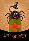 Смешной сюрприз на хеллоуин Стоковые Изображения RF