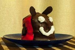Смешной торт Стоковые Изображения RF