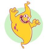 Смешной усмехаться характера джинов шаржа Иллюстрация вектора страшного призрака иллюстрация вектора