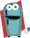 Смешной холодильник Стоковые Фотографии RF