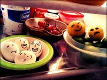 Смешной холодильник Стоковые Изображения