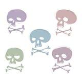 смешной череп Стоковое Фото