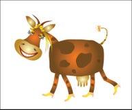 Смешной шарж коровы Стоковая Фотография RF