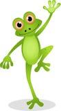 Смешной шарж лягушки Стоковая Фотография RF