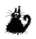 Смешной шарик кота Стоковое Фото