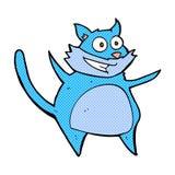 смешной шуточный кот шаржа Стоковые Фото