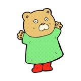 смешной шуточный медведь шаржа Стоковое Изображение RF