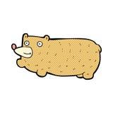 смешной шуточный медведь шаржа Стоковая Фотография RF