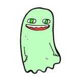 смешной шуточный призрак шаржа Стоковая Фотография