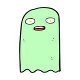 смешной шуточный призрак шаржа Стоковое фото RF