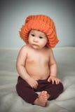 смешной шлем девушки немногая Стоковые Фото