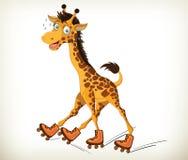 смешной giraffe Стоковая Фотография