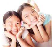 Смешные девушки Стоковые Фотографии RF