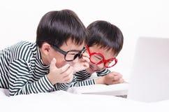 Смешные дети Стоковая Фотография