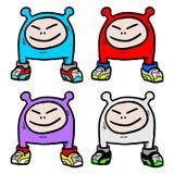 Смешные малыши Стоковое Изображение RF