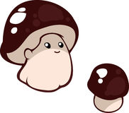 Смешные младенцы гриба Стоковое фото RF