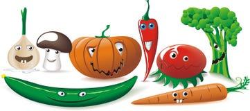Смешные овощи Стоковое фото RF