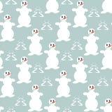 Смешные снеговики Стоковые Изображения