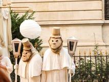 Смешные художники улицы Стоковое фото RF
