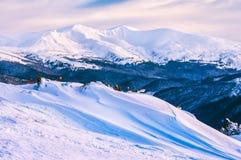 Смещение снега зимы Стоковые Изображения