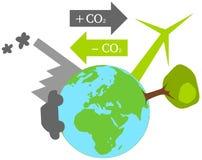Смещение углерода Стоковое Изображение RF
