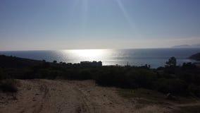 смещение удя среднеземноморскую сетчатую туну моря Стоковое Изображение
