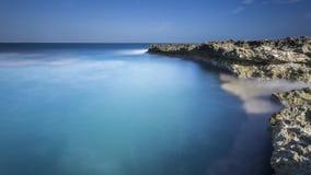 смещение удя среднеземноморскую сетчатую туну моря Стоковые Изображения