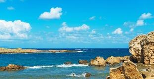 смещение удя среднеземноморскую сетчатую туну моря Стоковая Фотография