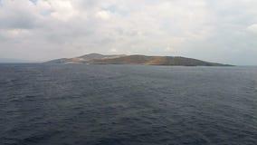 смещение удя среднеземноморскую сетчатую туну моря видеоматериал