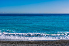 смещение удя среднеземноморскую сетчатую туну моря Стоковое фото RF