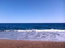 смещение удя среднеземноморскую сетчатую туну моря Стоковые Изображения RF