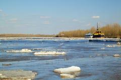 Смещение льда Стоковая Фотография