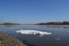 Смещение льда стоковые фотографии rf
