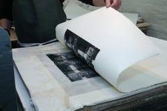 Смещени-печать Стоковое Фото