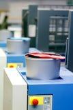 Смещенная печатная машина - чонсервные банкы чернил цвета Стоковые Изображения RF
