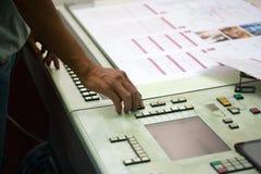 Смещенный процесс печати Стоковое Изображение