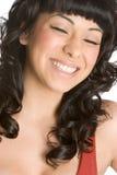 смеясь над женщина Стоковая Фотография RF