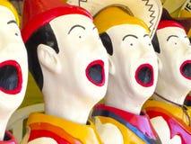 Смеясь над клоуны Стоковое Изображение RF