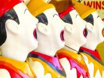 Смеясь над клоуны Стоковое Изображение