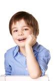 Смеясь над ребенк Стоковая Фотография RF