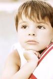 Смеясь над ребенк Стоковое Изображение